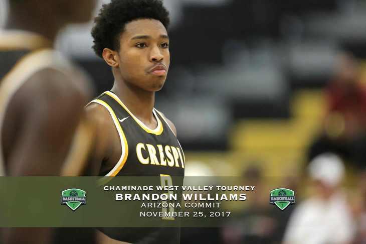 Crespi SR PG Brandon Williams