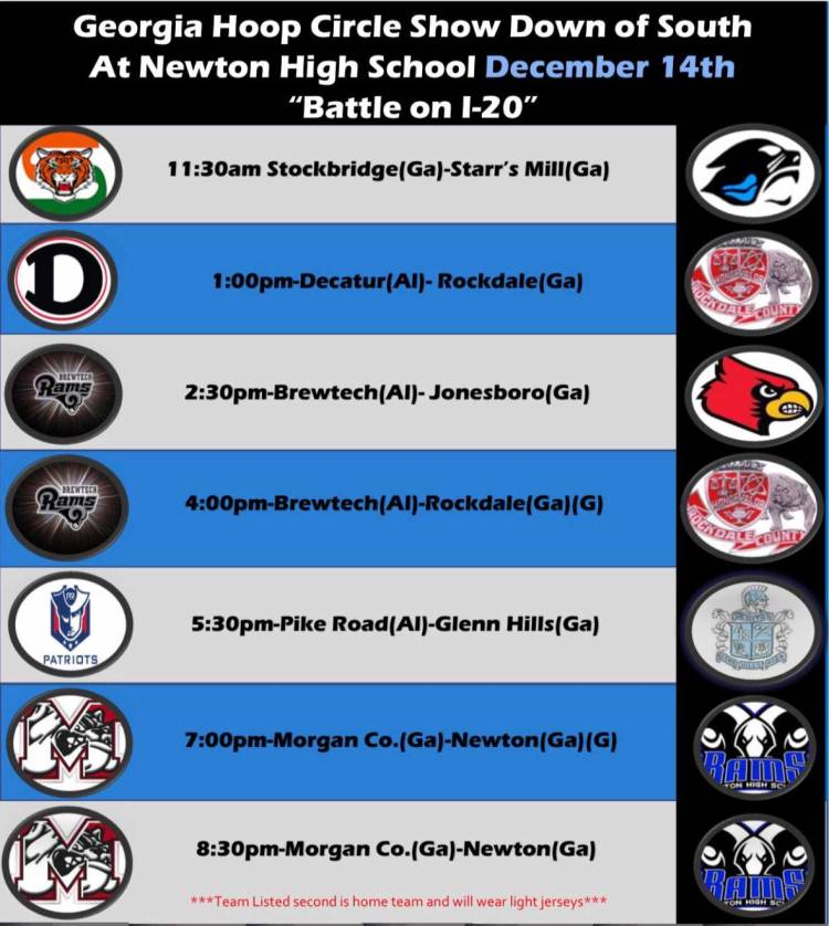 Newton-Tourney-Schedule
